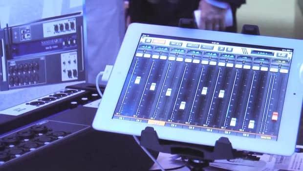 soundcraft ui 12 remote controlled 12 input digital mixer reverb. Black Bedroom Furniture Sets. Home Design Ideas