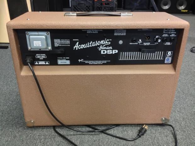 fender acoustasonic jr dsp 2006 guitar combo amp reverb. Black Bedroom Furniture Sets. Home Design Ideas