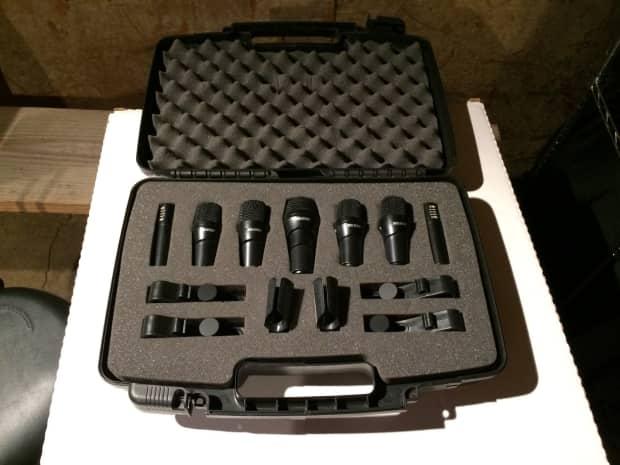 digital reference drdk7 7 piece drum microphone kit reverb. Black Bedroom Furniture Sets. Home Design Ideas