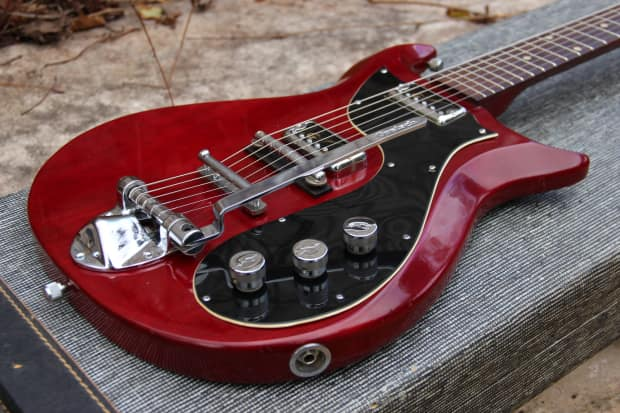 Gretsch Corvette 1963 Red 2 Pickups With Vibrato 33 Reverb