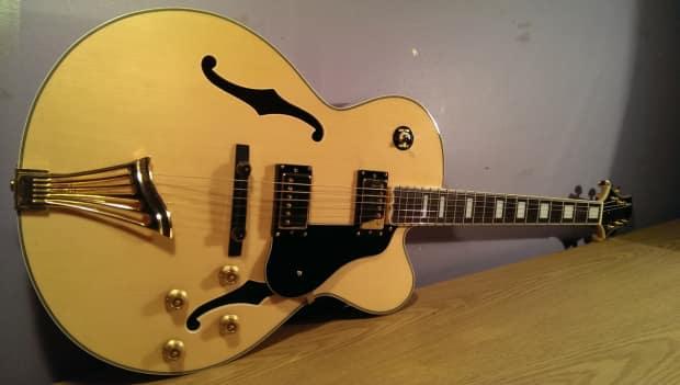 Samick Greg Bennett Jz 203 Archtop Jazz Guitar Jz203