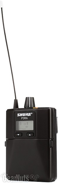 shure p3tra215cl wireless in ear monitor system j13 band reverb. Black Bedroom Furniture Sets. Home Design Ideas