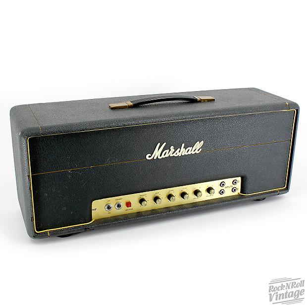 1974 marshall jmp mkii 50w reverb. Black Bedroom Furniture Sets. Home Design Ideas