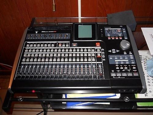 Tascam 2488 Neo 24 Track Digital Recorder Reverb