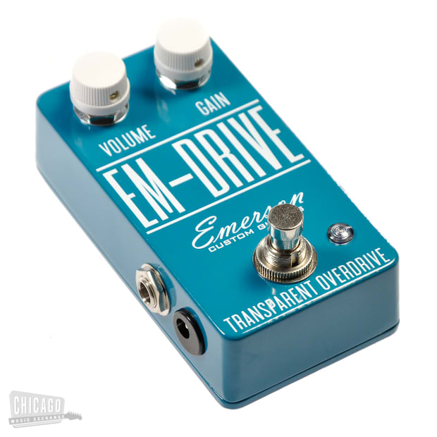 Emerson Em Drive Overdrive Turquoise Reverb