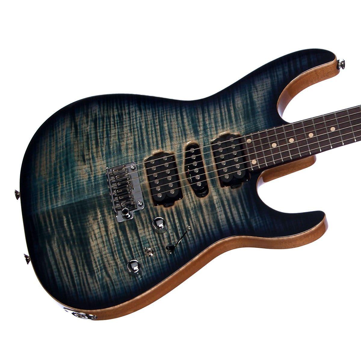 tom anderson angel 24 fret custom boutique electric guitar reverb. Black Bedroom Furniture Sets. Home Design Ideas