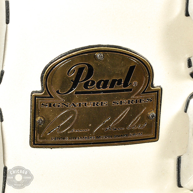 Evans Auto Exchange >> Pearl 6.5x14 Dennis Chambers Signature Snare Drum - Used ...