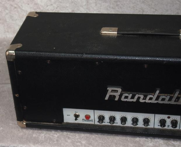 randall rg 100 es amp head with fs 5 footswitch dimebag darrell pantera reverb. Black Bedroom Furniture Sets. Home Design Ideas