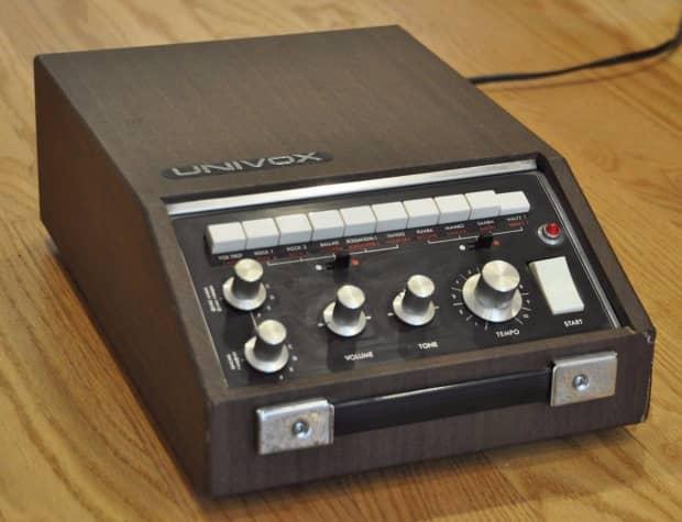 univox rhythm machine eBay