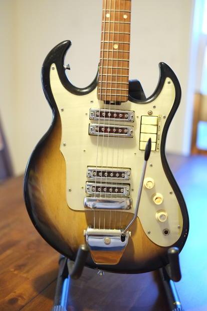 maxitone ibanez 994 1962 sunburst electric guitar made in japan w case reverb. Black Bedroom Furniture Sets. Home Design Ideas