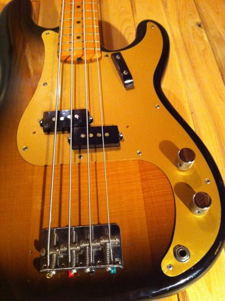 1982 fender 1957 reissue precision bass with hard case fullerton reverb. Black Bedroom Furniture Sets. Home Design Ideas