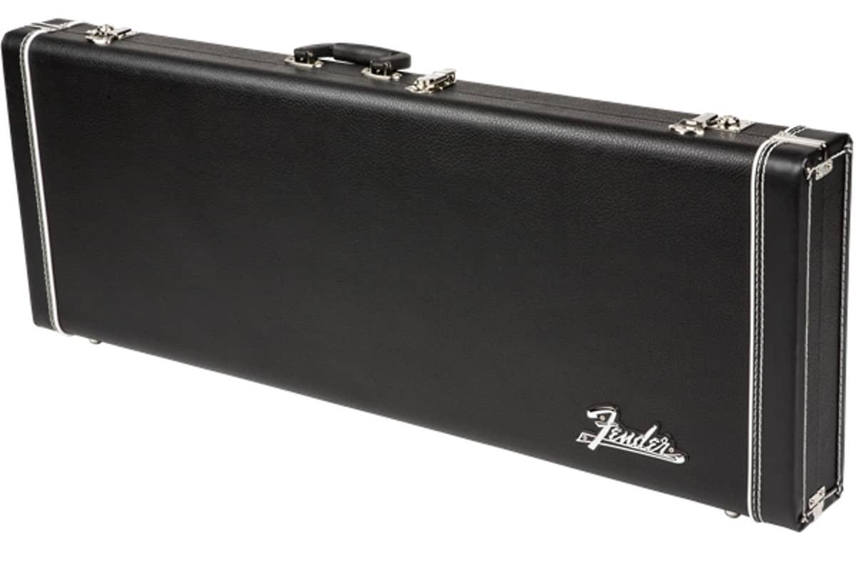 fender pro series guitar case black lightweight hardshell reverb. Black Bedroom Furniture Sets. Home Design Ideas