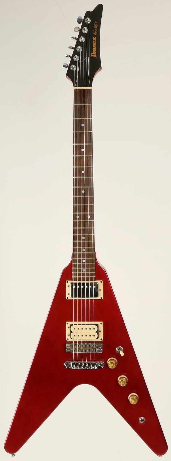 Ibanez Rocket Roll Ii Flying V 1980 Red Metallic
