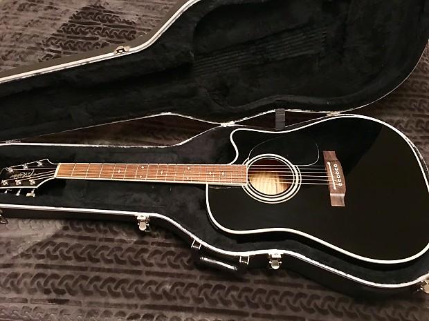 takamine ef 341c 1997 black acoustic electric guitar reverb. Black Bedroom Furniture Sets. Home Design Ideas