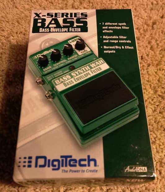 digitech bass synth wah manual