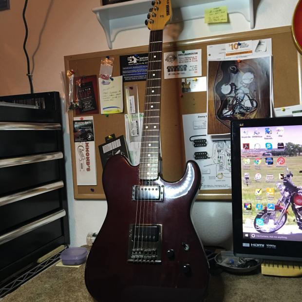 Yamaha Egc Electric Guitar