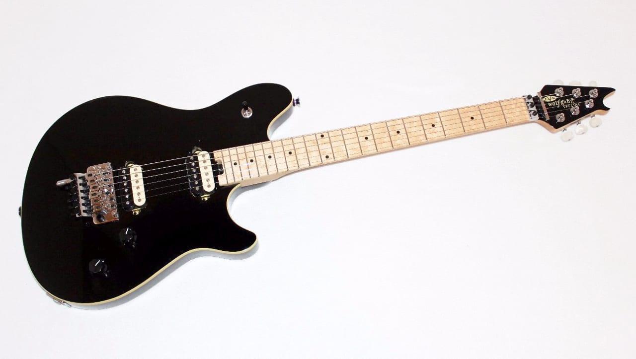 Evh Eddie Van Halen Wolfgang Special Black Electric Guitar