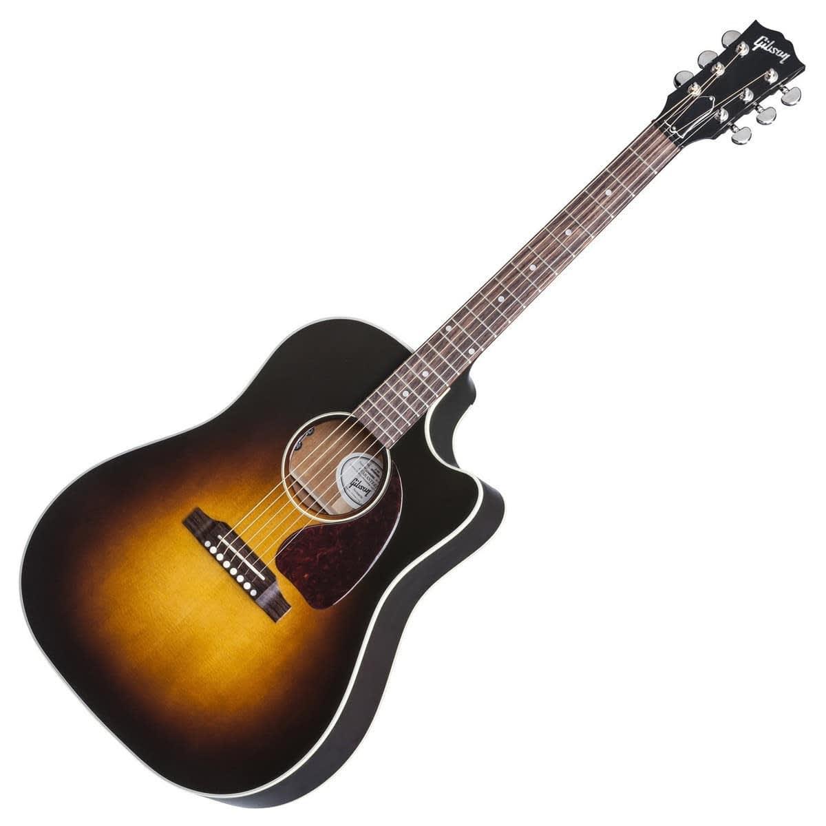 gibson 2017 j 45 cutaway electro acoustic guitar vintage reverb. Black Bedroom Furniture Sets. Home Design Ideas