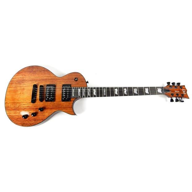 esp ltd ec 1000 koa natural gloss new electric guitar. Black Bedroom Furniture Sets. Home Design Ideas
