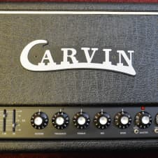 Carvin X100B Series IV 100 watt Amp Head with Footswitch and Cover image