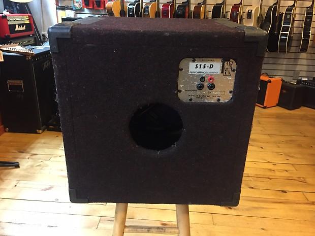 Bag End S15d Bass Cabinet Reverb