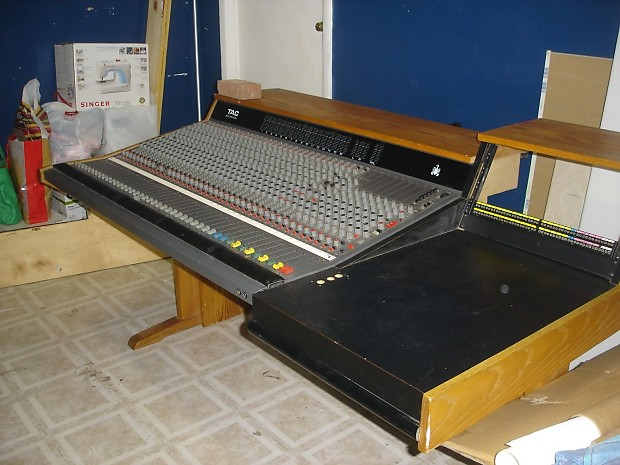Amek tac scorpion 32x16 professional mixing console reverb - Professional mixing console ...