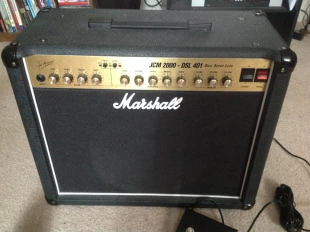 marshall jcm2000 dsl 401 1999 blk upgraded speaker reverb. Black Bedroom Furniture Sets. Home Design Ideas