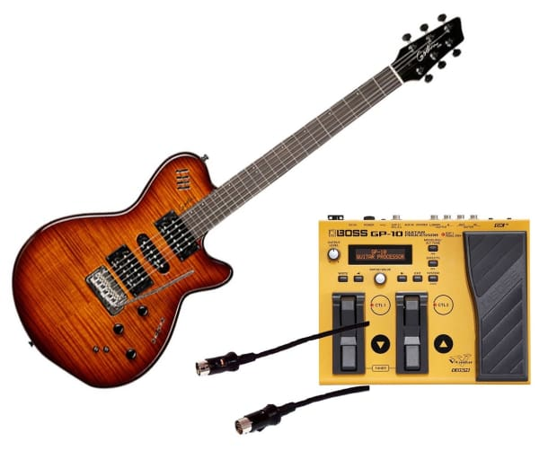 godin guitars xtsa synth access 3 voice midi and effects reverb. Black Bedroom Furniture Sets. Home Design Ideas