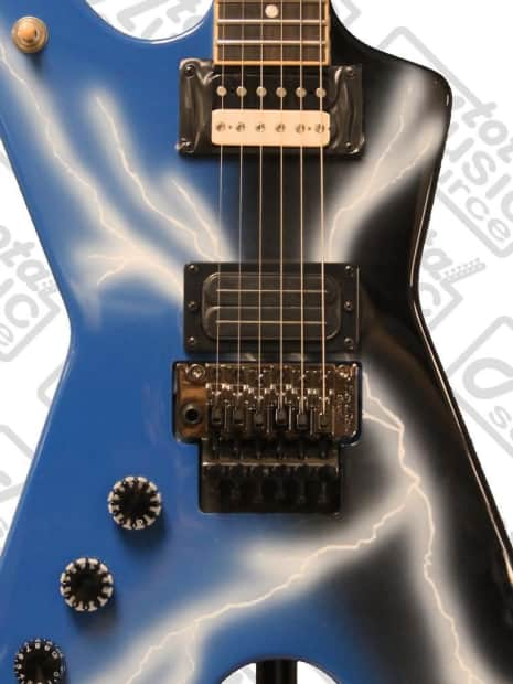 """Clip On Guitar Tuner >> Dean LEFT HAND Dimebag ML """"From Hell"""" Guitar w/ Case, Strap, 