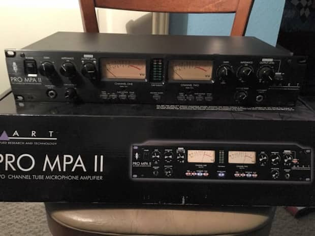 art pro mpa ii two channel tube preamp reverb. Black Bedroom Furniture Sets. Home Design Ideas