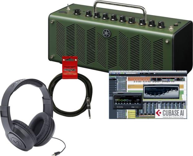 Yamaha thr10x high gain stereo amp bundle green reverb for Yamaha thr10x specs
