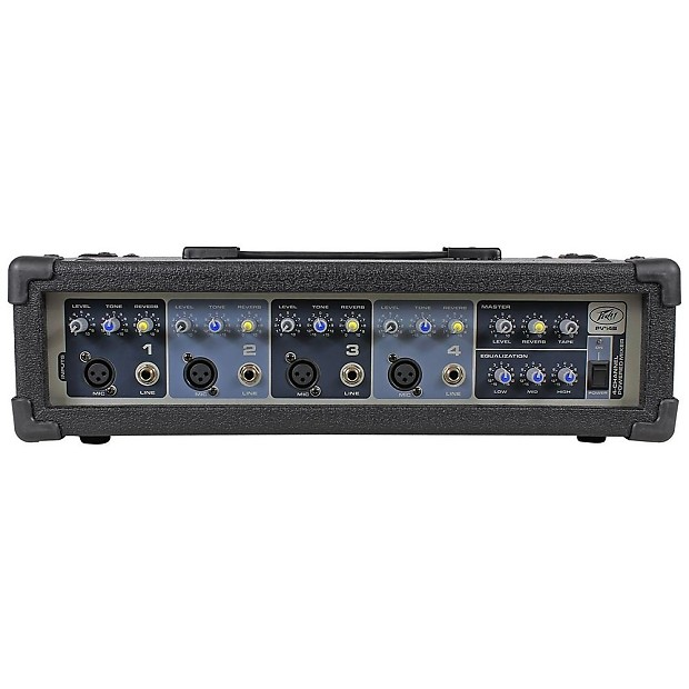 Peavey Audio Performer Pack Portable Pa System Reverb