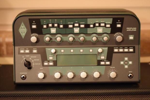 kemper profiling amplifier head w camplifier stereo power amp and kemper bag reverb. Black Bedroom Furniture Sets. Home Design Ideas