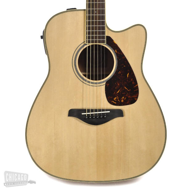 Yamaha fgx720sca acoustic electric 2012 natural reduced for Yamaha fg830 specs