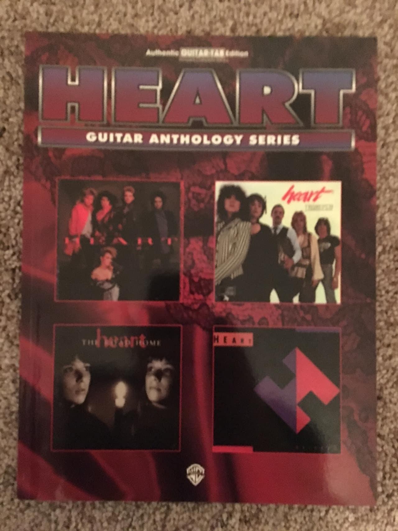heart guitar anthology guitar tab tablature book reverb. Black Bedroom Furniture Sets. Home Design Ideas