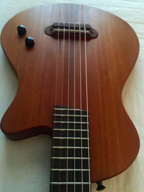 veillette journeyman baritone nylon string guitar 2016 reverb. Black Bedroom Furniture Sets. Home Design Ideas