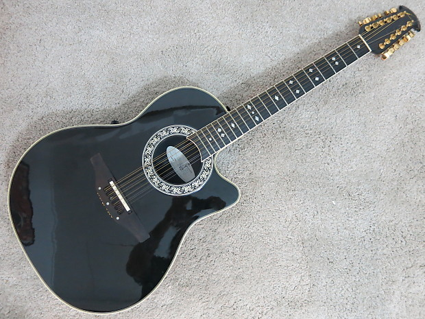 ovation 1866 legend 12 string acoustic electric guitar usa reverb. Black Bedroom Furniture Sets. Home Design Ideas