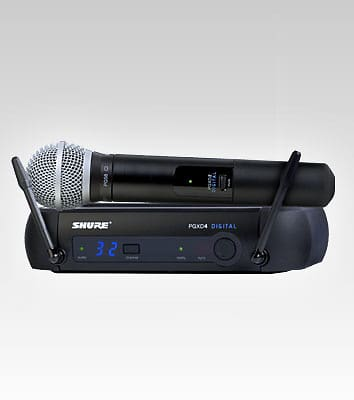 shure pg58 wireless microphone manual