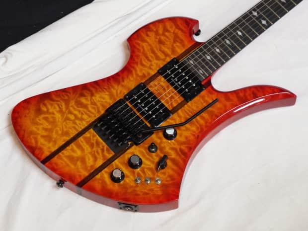 BC Rich Mockingbird ST electric Guitar Honey Burst w/ Case ...