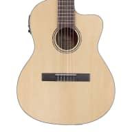 <p>Alvarez Regent Series Classical Electric/Acoustic Guitar, Natural</p>  for sale