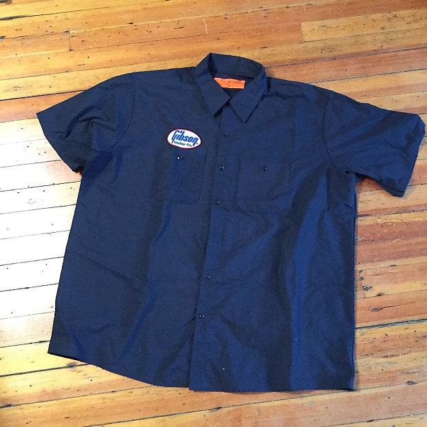red kap gibson work shirt xxl w free shipping reverb