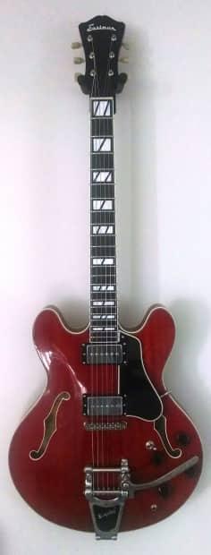eastman eastman t486b semi hollow body guitar bigsby reverb. Black Bedroom Furniture Sets. Home Design Ideas