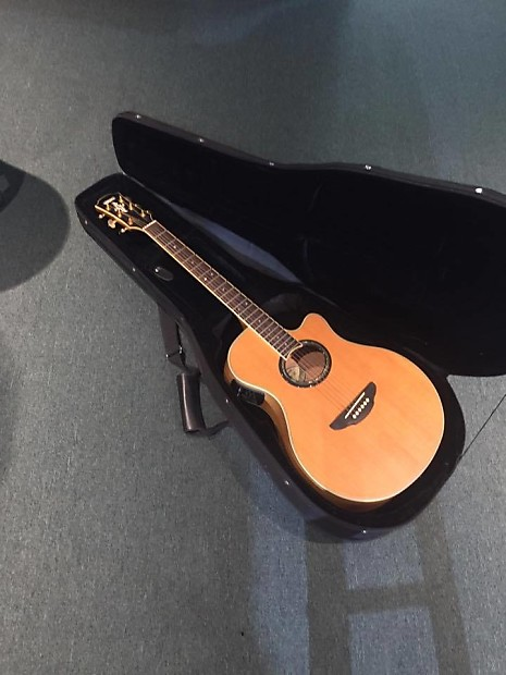 Yamaha apx 09c acoustic electric guitar with case reverb for Apx guitar yamaha