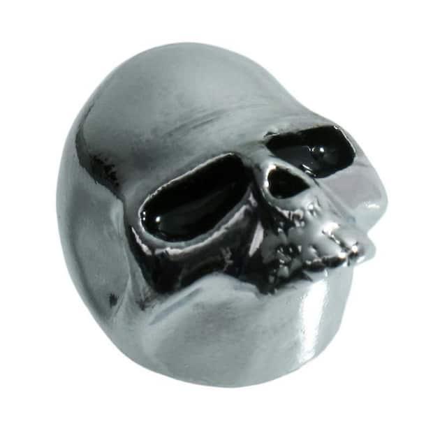 q parts skull ii custom guitar volume tone knob chrome guitar reverb. Black Bedroom Furniture Sets. Home Design Ideas