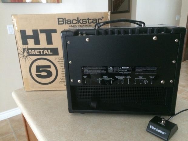 blackstar ht 5 metal r combo reverb. Black Bedroom Furniture Sets. Home Design Ideas