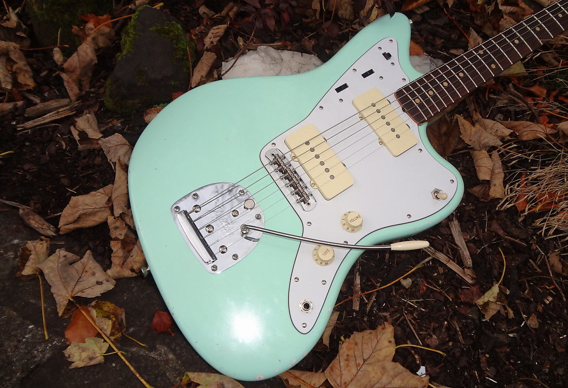 Fs Ft 62 Fender Jazzmaster Surf Green Avri Sold