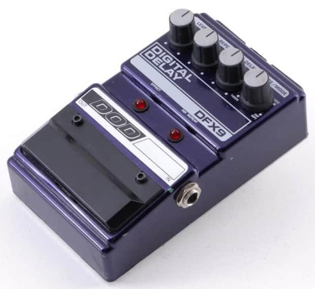 dod dfx9 digital delay guitar effects pedal reverb. Black Bedroom Furniture Sets. Home Design Ideas