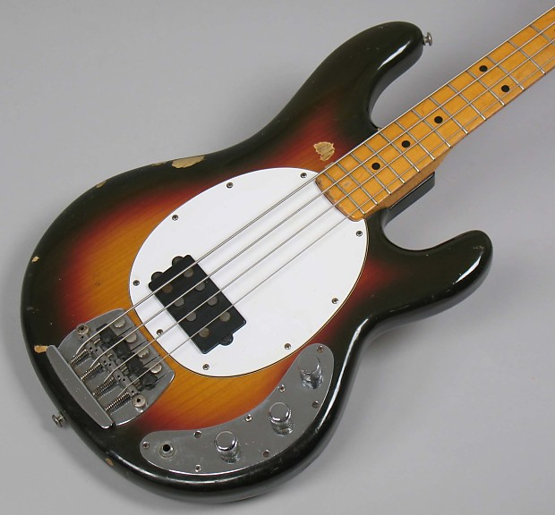 musicman stingray bass 1977 sunburst reverb. Black Bedroom Furniture Sets. Home Design Ideas