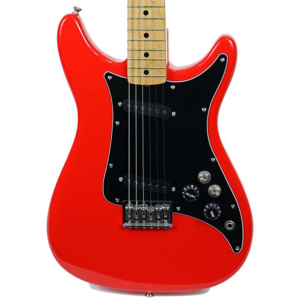 vintage 1980 fender lead ii electric guitar red finish reverb. Black Bedroom Furniture Sets. Home Design Ideas