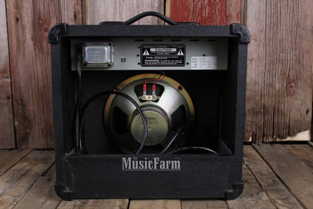 Crate Gx15r Electric Guitar Amplifier Solid State 15 Watt